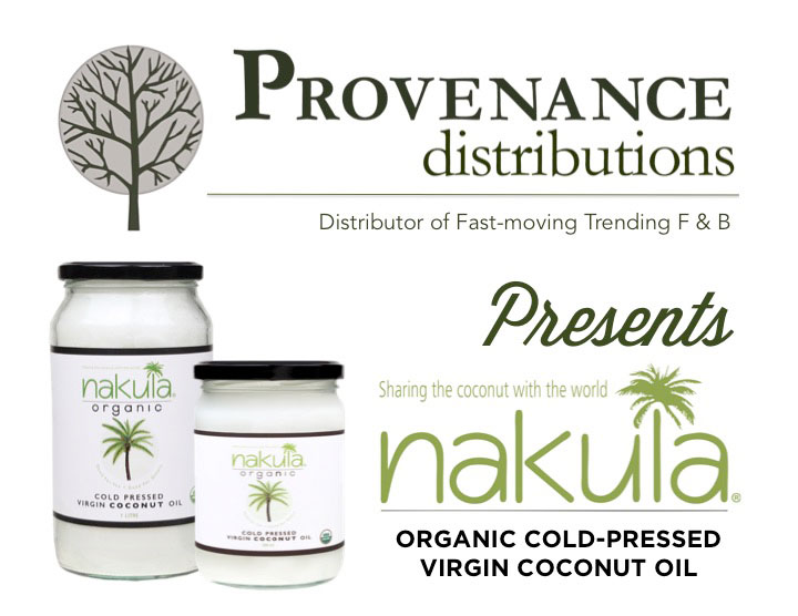 Nakula Organic Virgin Coconut Oil Launched- in Singapore
