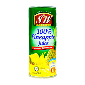 S&W Pineapple Juice Home Featured Image