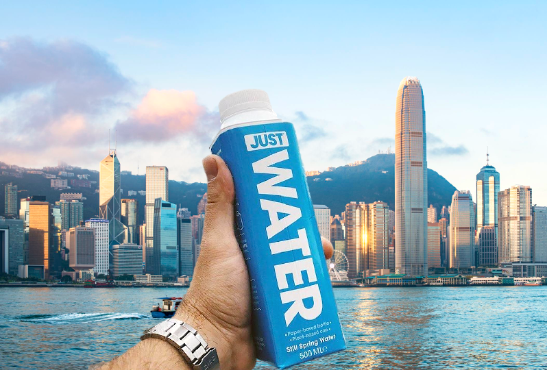 JUST Water Hong Kong. Distributed by Provenance DIstributions